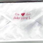 Das Kind schickt einen Brief