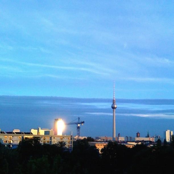 Alpenglühen, Berlin