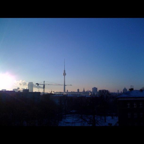 Sonne putzt alles blank und fein. #berlin
