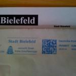 Update – Post aus Bielefeld