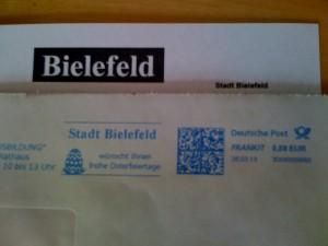 Post aus Bielefeld
