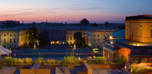 Hotel de Rome - Roof Terrace