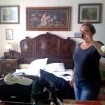 Miz Kitty reist mit dem Grafen – Palac Tlokinia, Opatowek, Großpolen