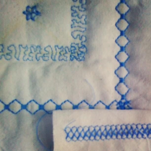 Miz Kitty feat. Uromas Stickmustertuch #crafting