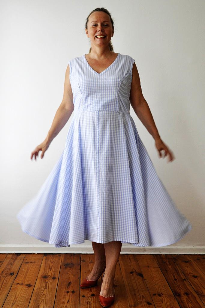 Vichy-Karo-Kleid