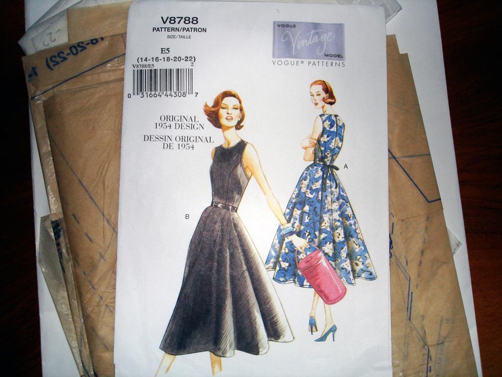 Vintage Vogue Schnitt