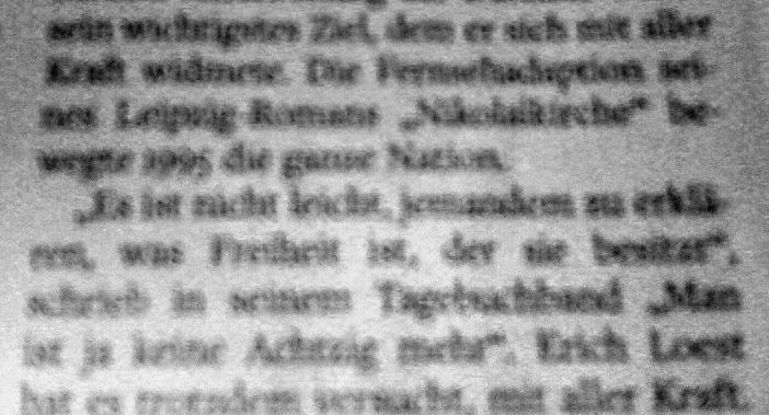 Zum Tod von Erich Loest