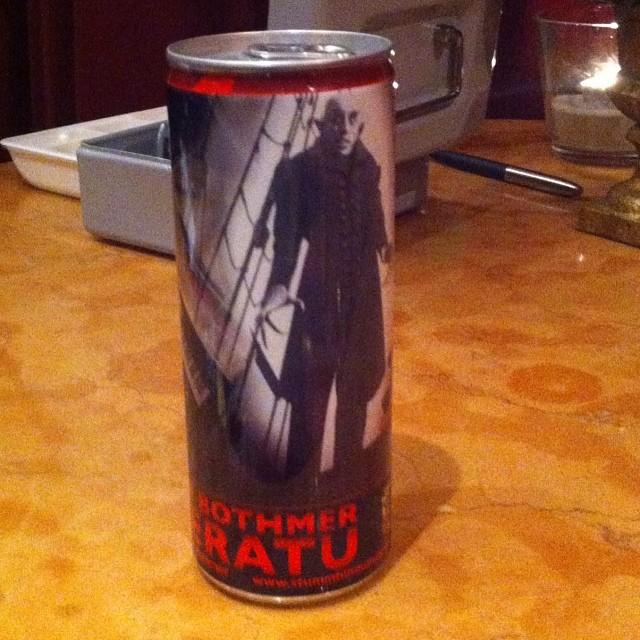 Nosferatu, der Energy-Drink