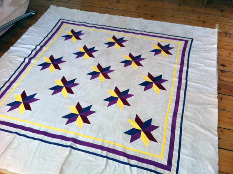 Quilt-Top fertig
