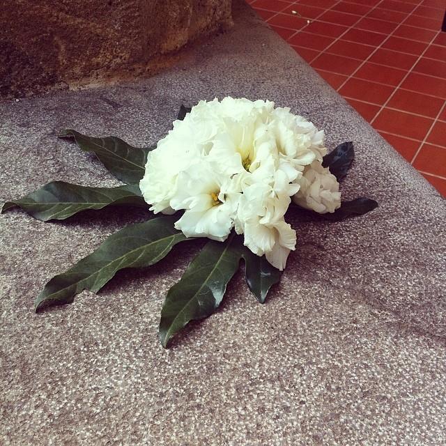 guten morgen! die Reste der gestrigen Kommunionfeier. #conventobaida