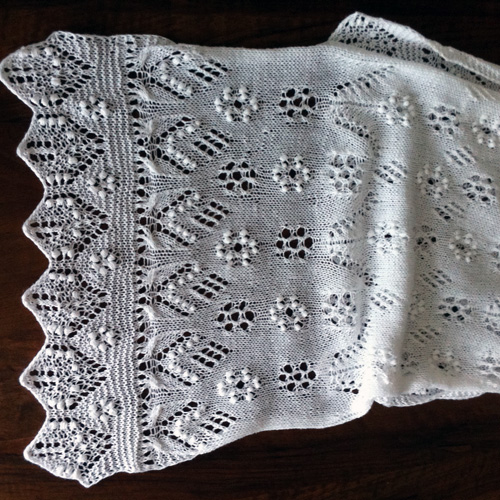 Estonian Lace Shawl
