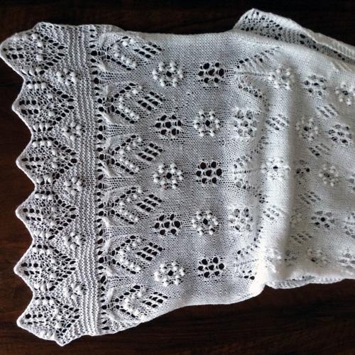 Estonian Lace Shawl