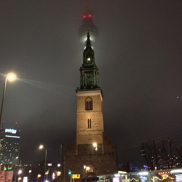 adventsstimmung am alexanderplatz #berlin #tvtower